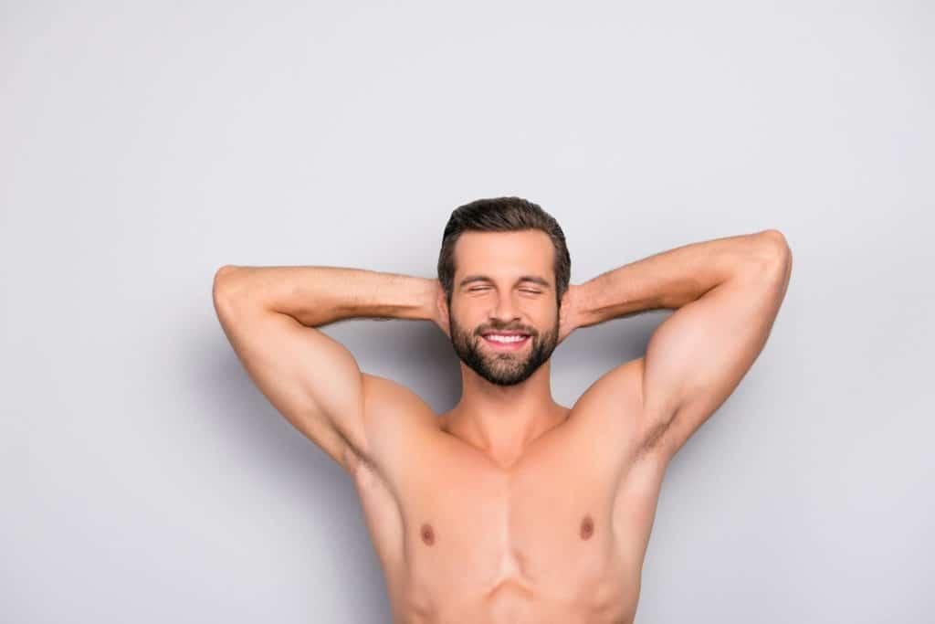 Epilation homme – Epaules ou aisselles